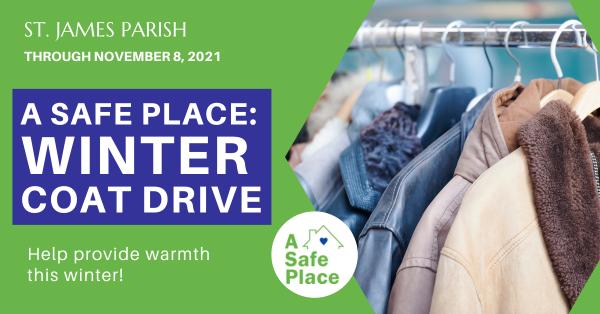 A Safe Place: Winter Coat Drive