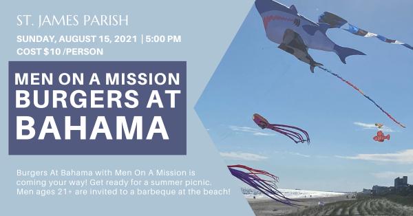 Men on a Mission: Burgers at Bahama