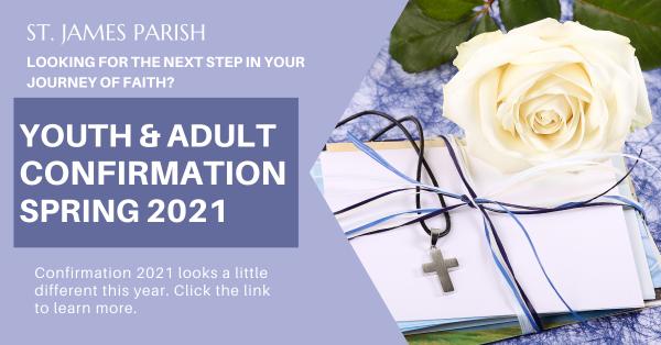 Confirmation Spring 2021