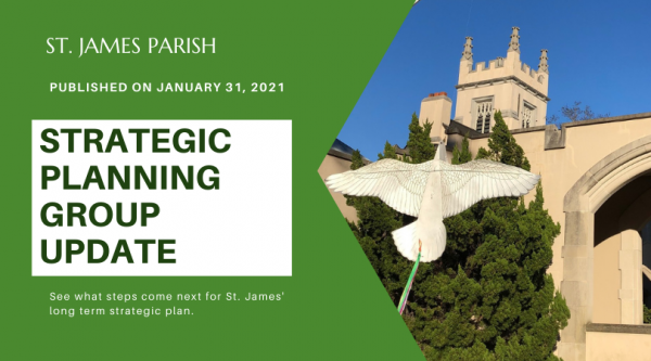Strategic Planning Group Update ~ January 31, 2021