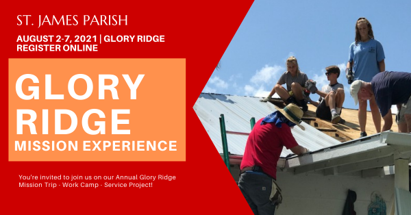 Glory Ridge Mission Experience 2021