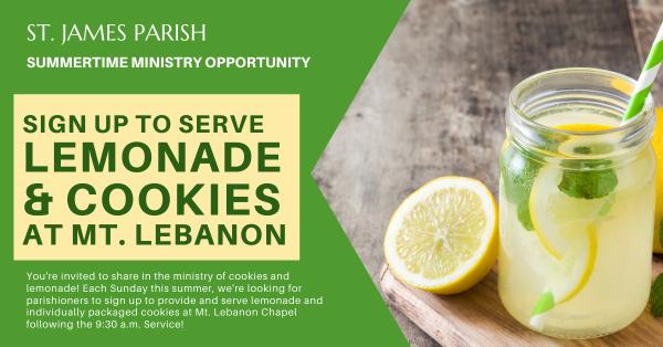 Lemonades at Mt. Lebanon