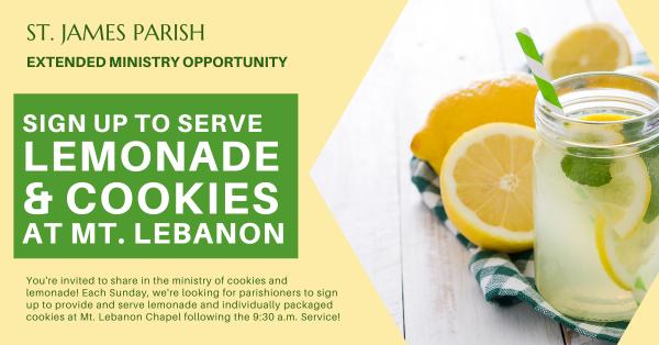 Lemonades at Mt. Lebanon - Extended!