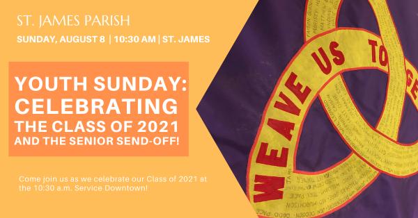 Youth Sunday 2021: Celebrating the Class of 2021