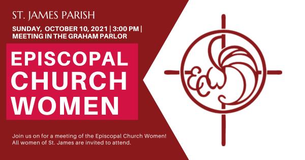 ECW: Episcopal Church Women Meeting