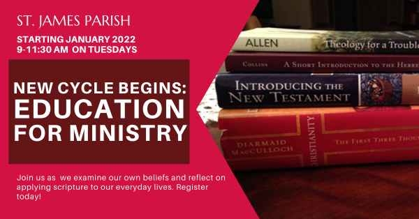 Education for Ministry 2022