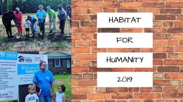 Habitat for Humanity Interfaith Build 2019