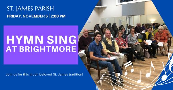 Hymn Sing at Brightmore