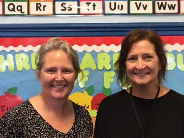 Three's Class- Ms. Lockamy & Ms. Cason