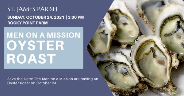 Men on a Mission: Oyster Roast