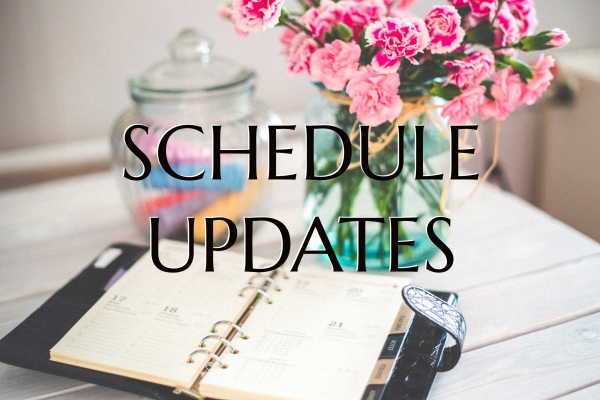 COVID-19 Updates and Schedule Changes