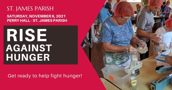 Rise Against Hunger - November 6th, 2021