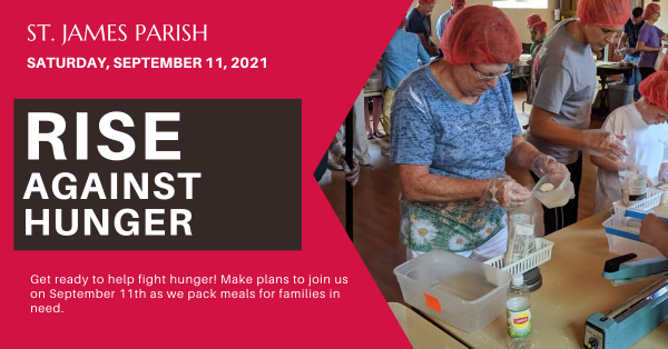 Rise Against Hunger - Save the date!