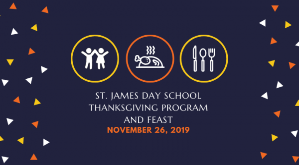 SJDS Thanksgiving Program and Feast