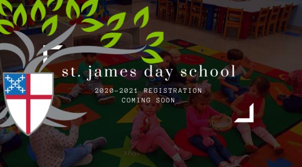 St. James Day School- 2020-2021 Registration
