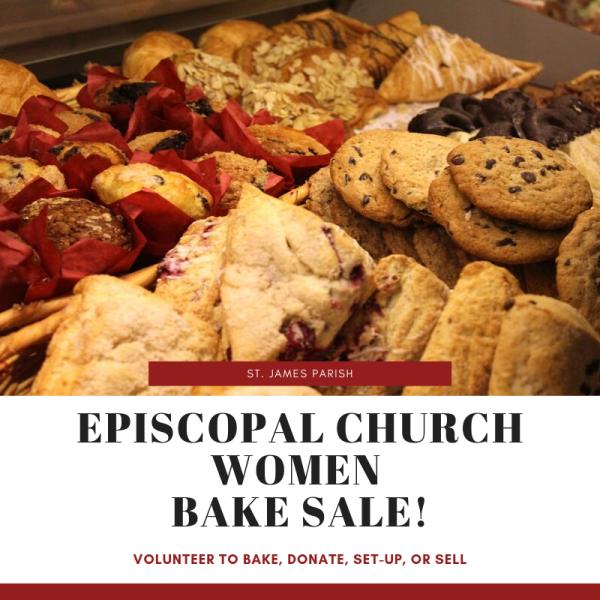 Episcopal Church Women- Bake Sale