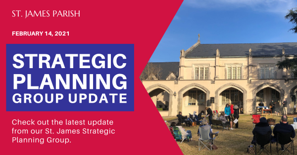Strategic Planning Group Update ~ February 14, 2021