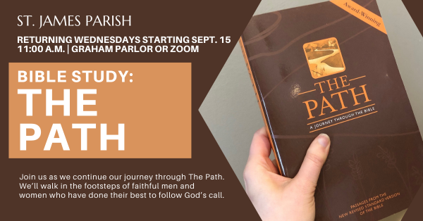 Wednesday Bible Study- The Path