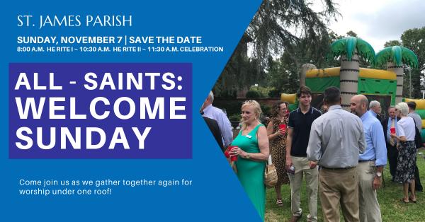 All Saints Sunday 2021 - Welcome Sunday