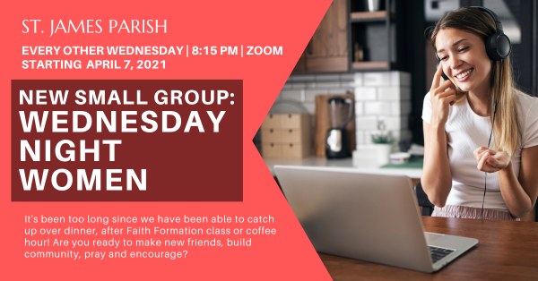 Wednesday Night: Women's group
