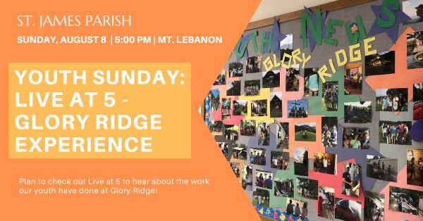 Live at Five- Glory Ridge Experience